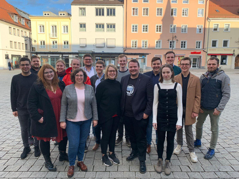 Bezirksvorstand der Jusos Niederbayern 2020